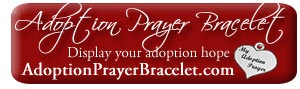 Adoption Prayer Bracelet